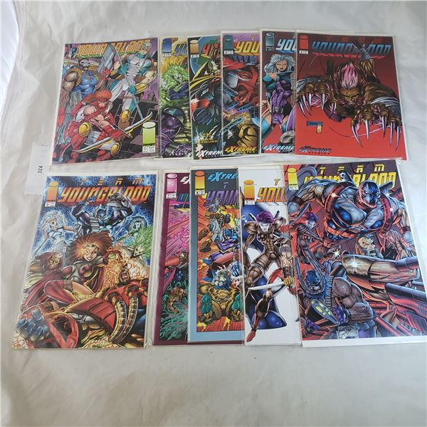 10 Comics Youngblood