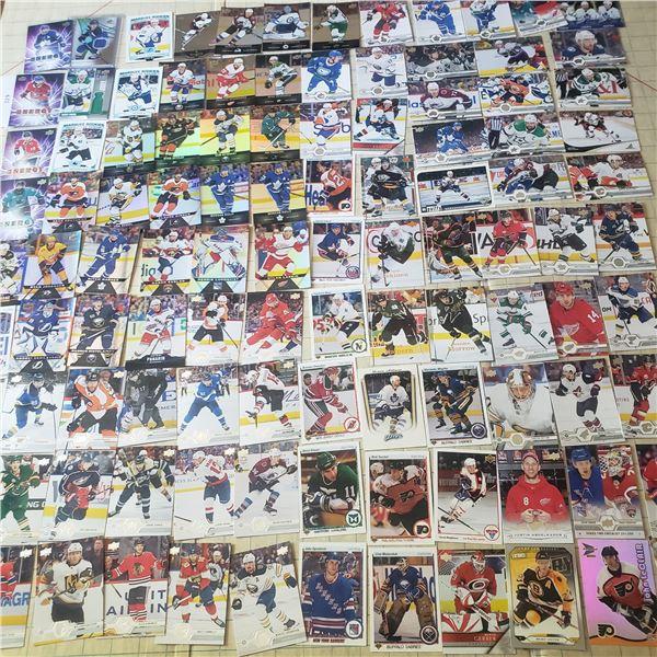 100 + mostly 2000-2020 Hockey Cards NHL some vtg