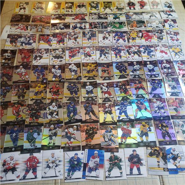 100+ Hockey Cards mostly modern 2000-current