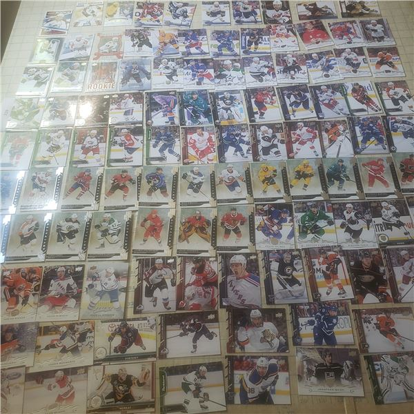 100+ Hockey Cards mostly modern 2000-current, various Rookies