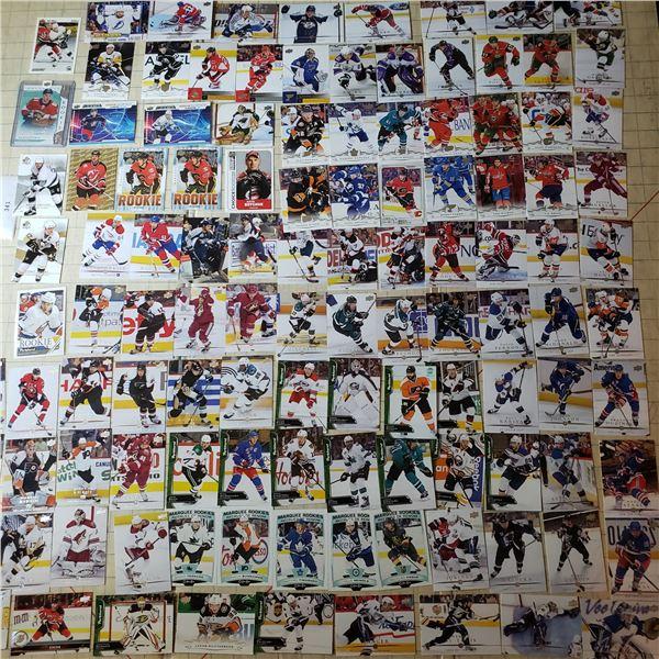 100+ Hockey Cards mostly modern 2000-current, numbered card Stillman /999 + Gretky, Crosby