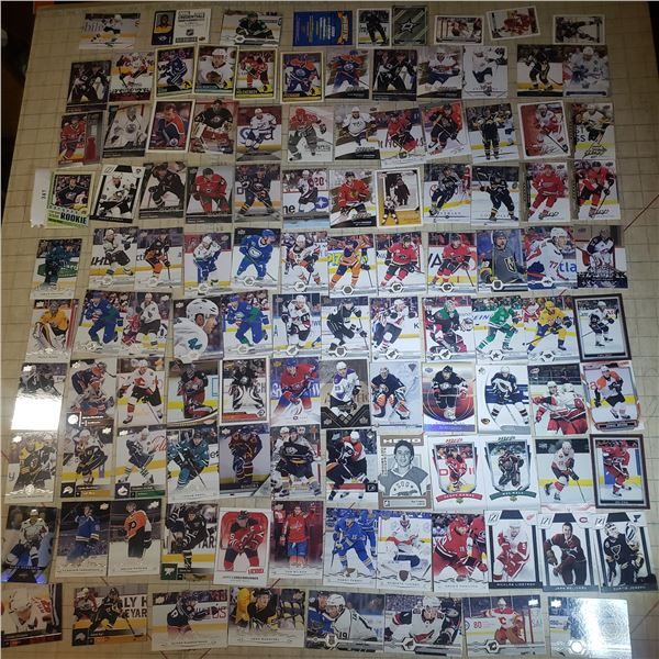 110+ Hockey Cards mostly modern 2000-current + Jersey Card Shea Weber PK Subban Player Credentials y