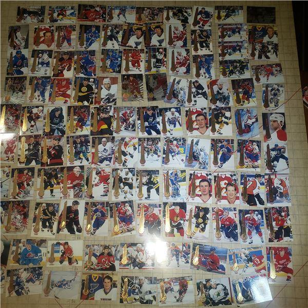110+ Hockey Cards mostly Pinnacle