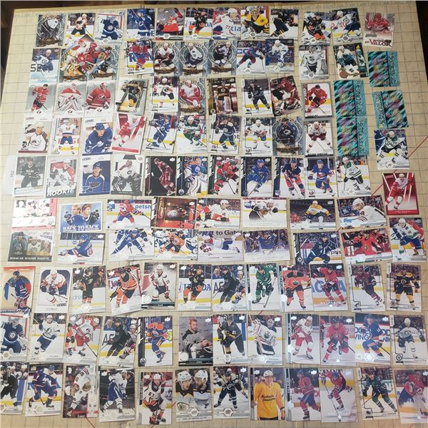 110+ Hockey Cards mostly modern 2000-current, some 90s, Brodeur, Talbot, Roy