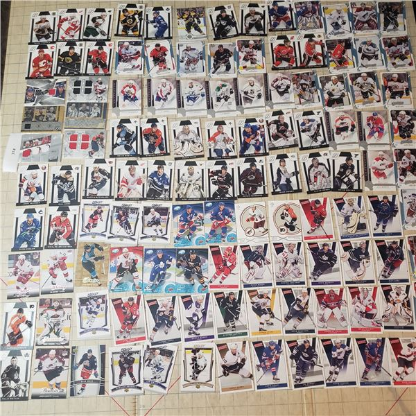 120+ Hockey Cards mostly modern 2000-current some Numbered Jersey Patch cards /25 Brind'Amour, Staal