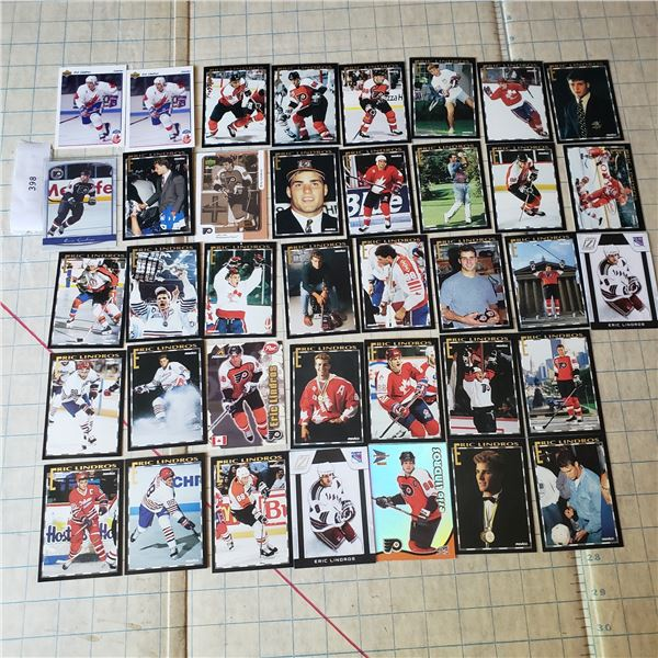 Eric Lindros Card lot