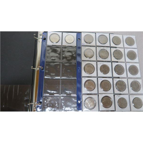 1968-1987 Canadian Nickel Dollar Coins X22