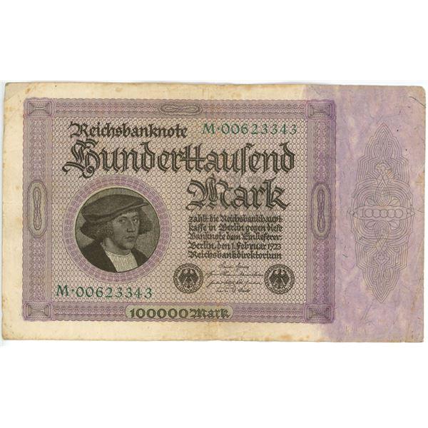 1923 Geman 10,000 Marks Bank Note/Bill