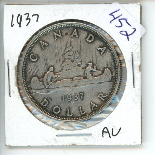 1937 Canadian Silver Dollar