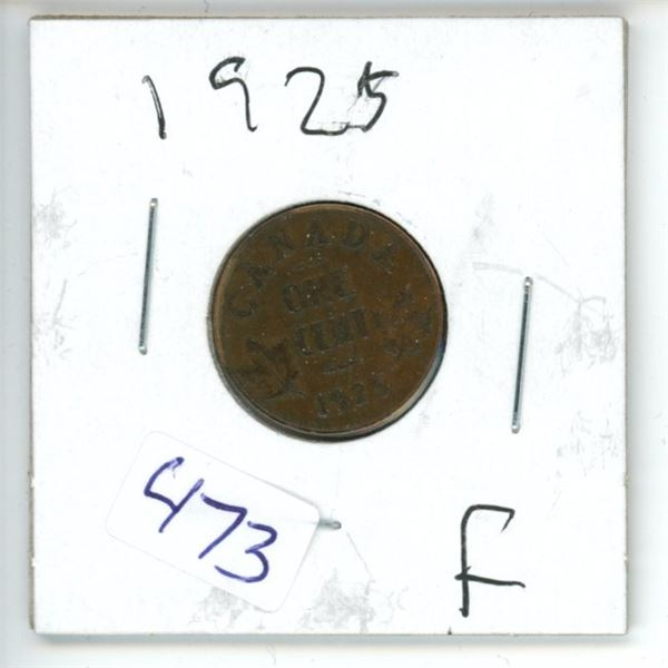 1925 Canadian 50 Cent Coin