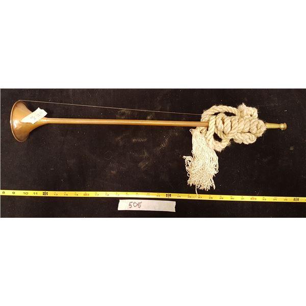 Vintage Copper Horn
