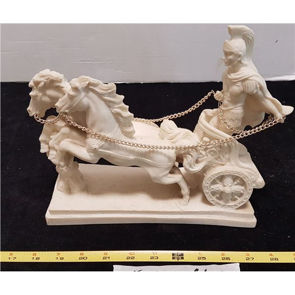 Roman Chariot Figurine