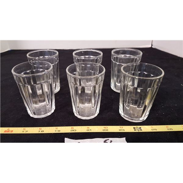 Set 6 Small Juice Glasses