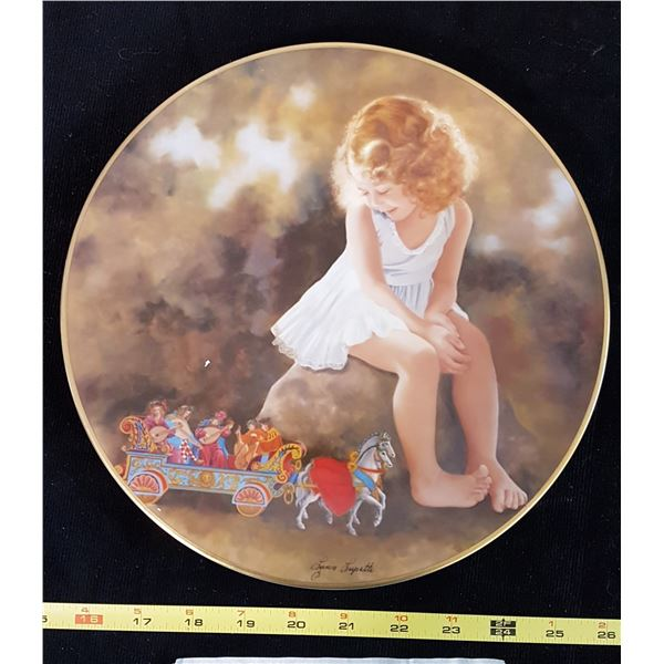 Music For A Queen Collector Plate
