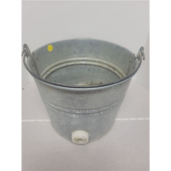 Milking pail - I think theres a frog inside.