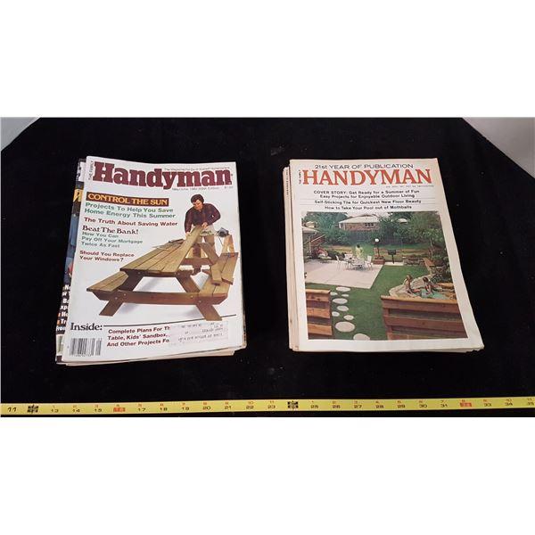 Lot 20 Handyman Magazines