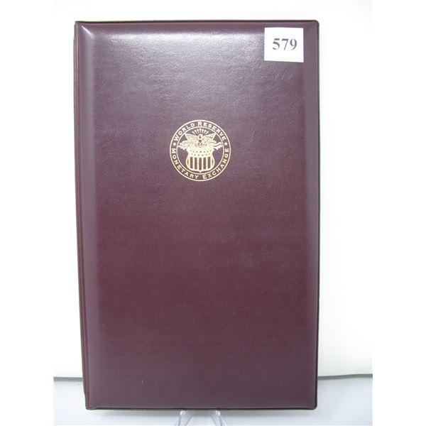 UNITED STATES $1.00 BILLS - UNCUT SHEET of 4 BILLS