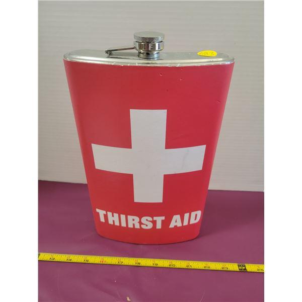 Gigantic Thirst Aid Flask