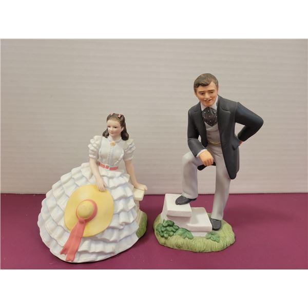 Scartlett O'Hara & Rhett Butler ornaments