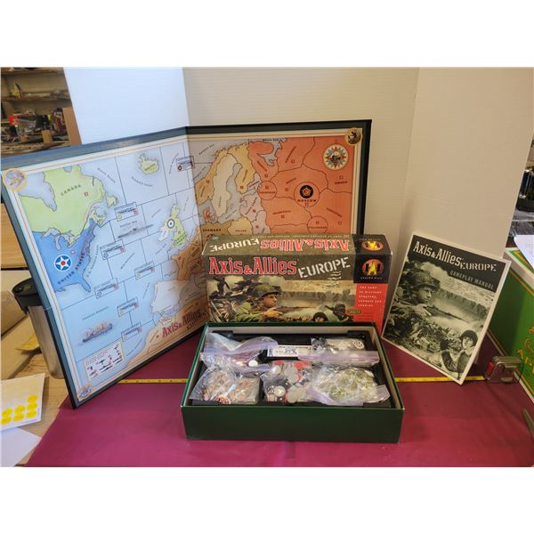 Axis & Allies Europe version game