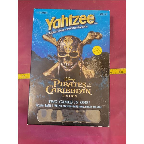 Pirates of the Caribbean Yatzhee Game