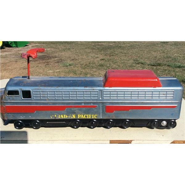 Canadian Pacific Railway metal train
