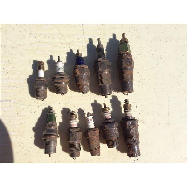 Misc spark plugs, Coop, Champion, Splitdorf