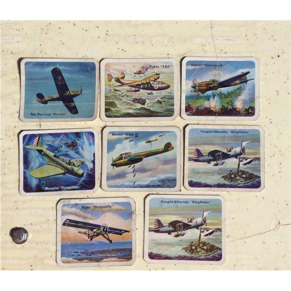 WW2 Cracker Jack airplane cards