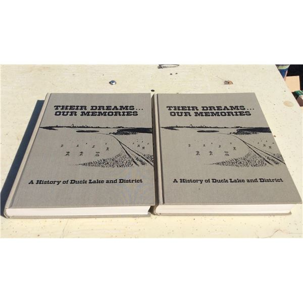 Duck Lake History Books Vol 1and 2
