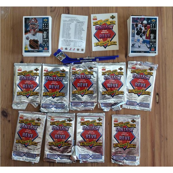 1993 Mc Donald's Upper Deck Hockey Cards 135 in total