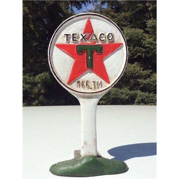 Texaco doorstop