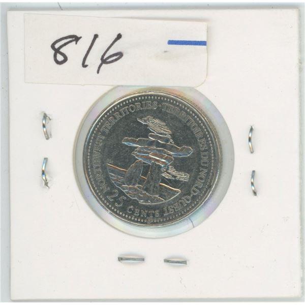 1887 - 1992 Canada 25 Cent