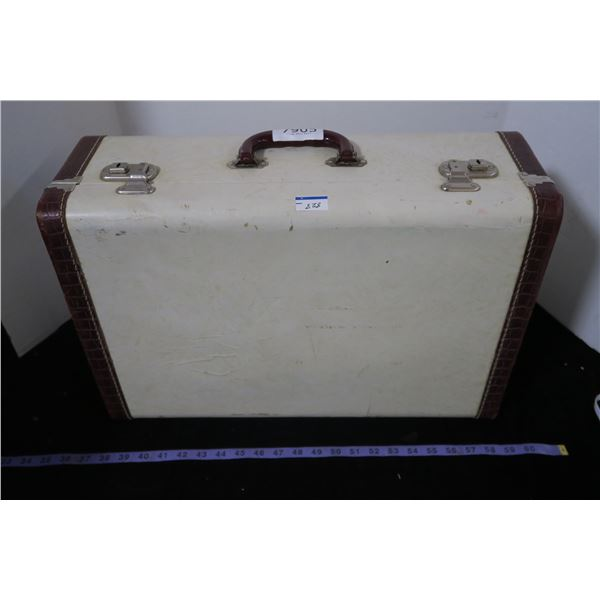 Vintage Suitcase + Cap Collection