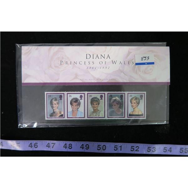 Princess Diane Stamp Collection