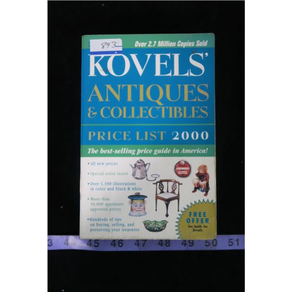 Kovels Antiques + Price Guide