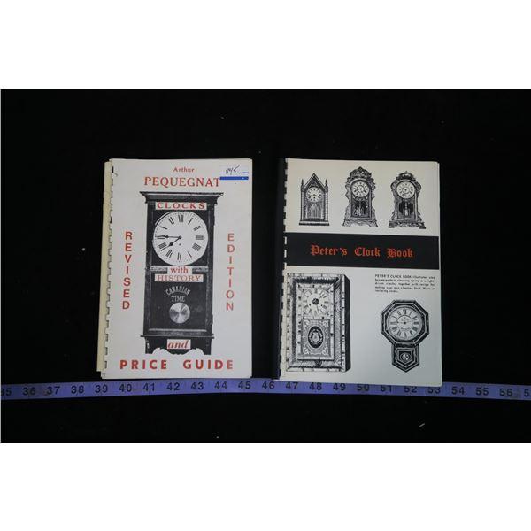 Pequegnat Clocks + Peters Clock Book