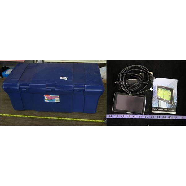 Magellan Road Mate 3030LM + Large Blue Storage Case