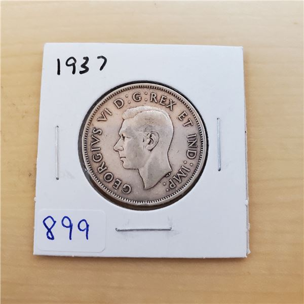 1937 canada 50 cents