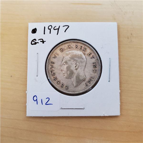 1947 c7 canada 50 cent