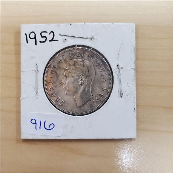 1952 canada 50 cent