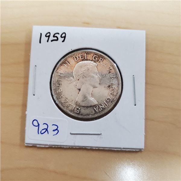 1959 canada 50 cent