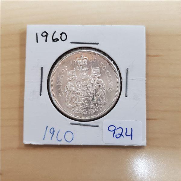1960 canada 50 cent