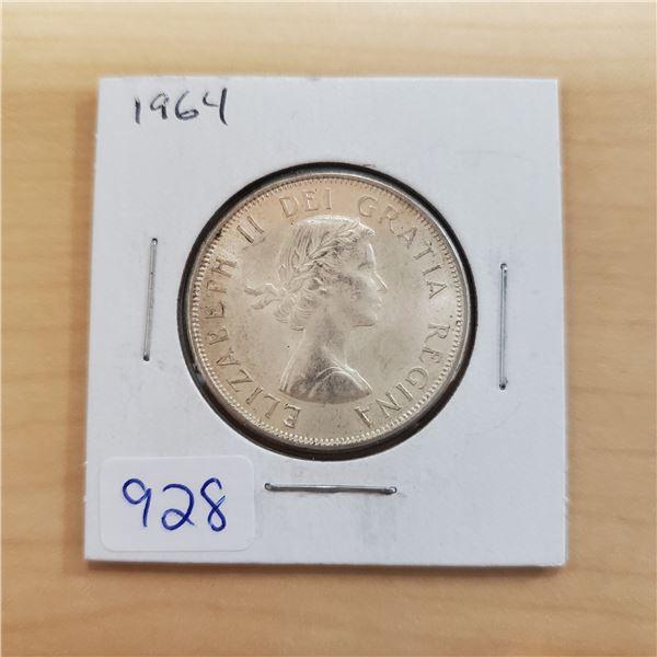1964 canada 50 cent