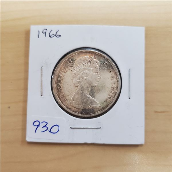 1966 canada 50 cent