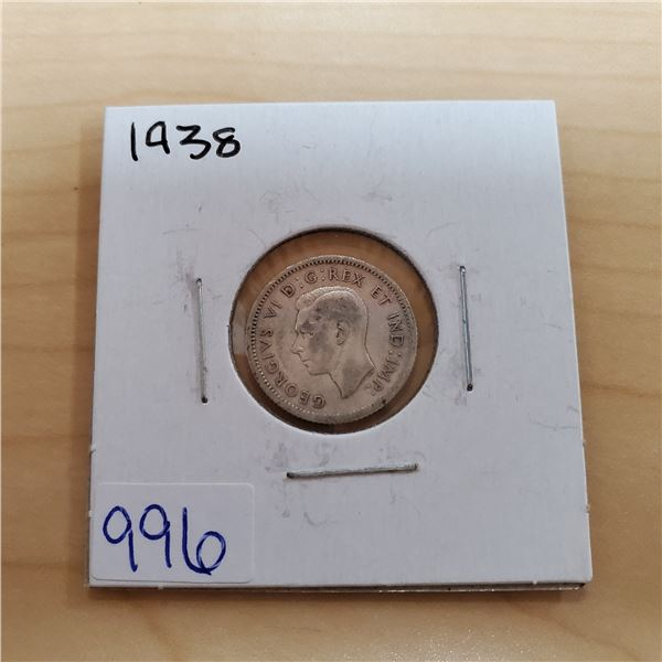 1938 canada 10 cents