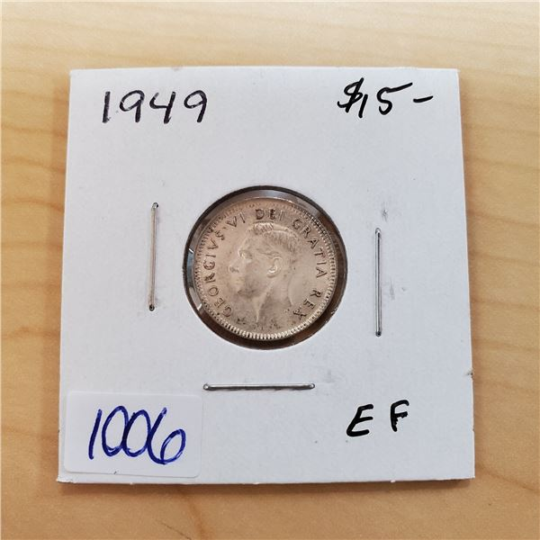 1949 canada 10 cents