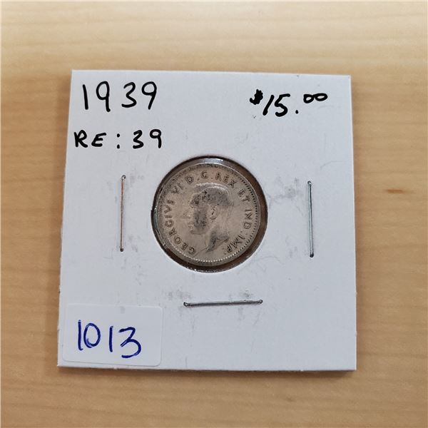 1939 canada 10 cents