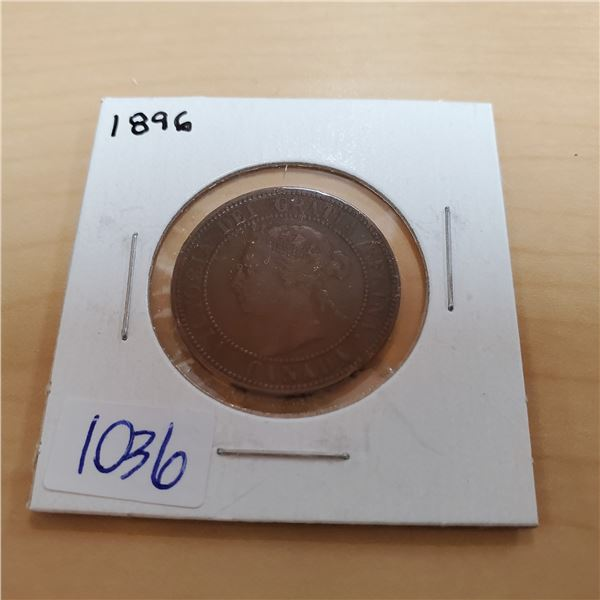 1896 canada one cent