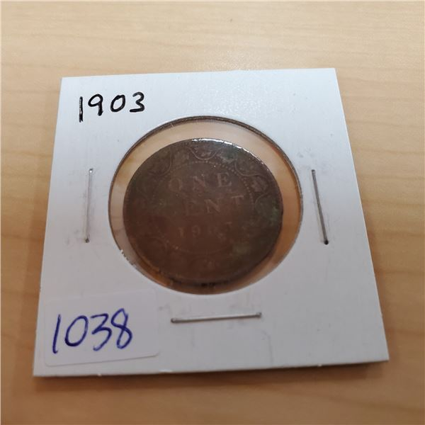 1903 canada one cent