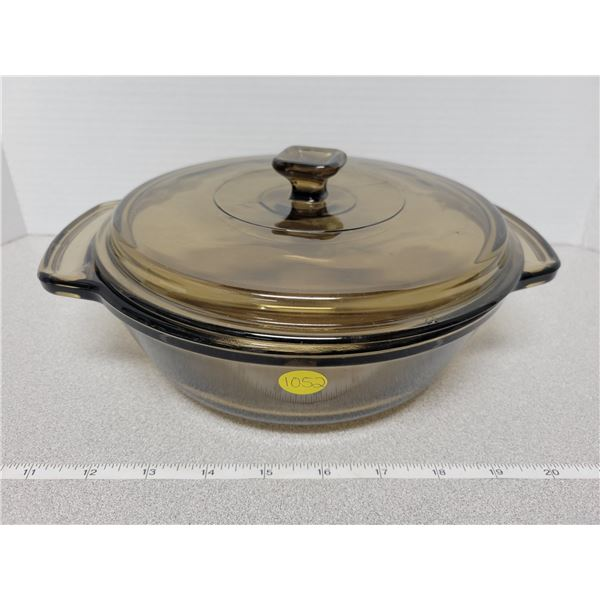 Anchor Ovenware casserole dish with lid 1.5 quart